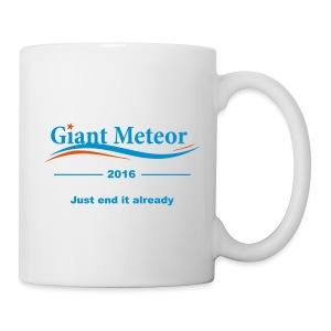 Giant Meteor 2016 White Mug - Coffee/Tea Mug