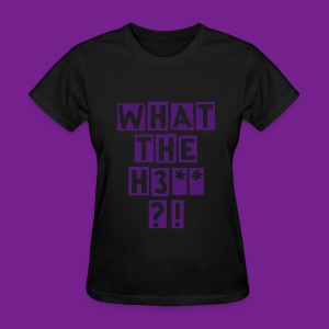 Womens WTH Shirt Black - Women's T-Shirt