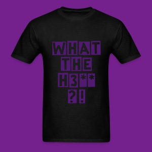 Mens WTH Shirt Black - Men's T-Shirt