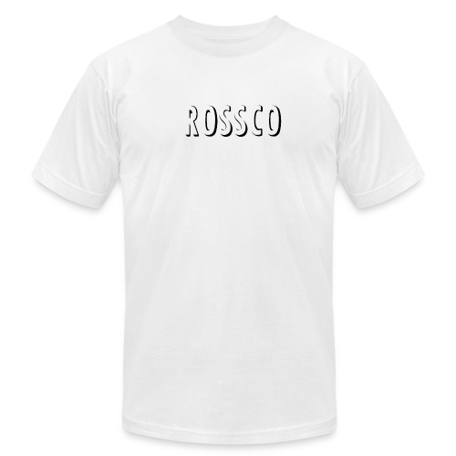 ROSSCO white T - Men's Fine Jersey T-Shirt