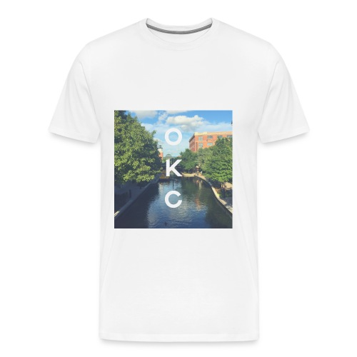 okc - Men's Premium T-Shirt