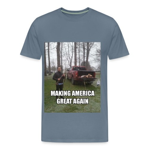 GREAT AMER PRODUCTS - Men's Premium T-Shirt