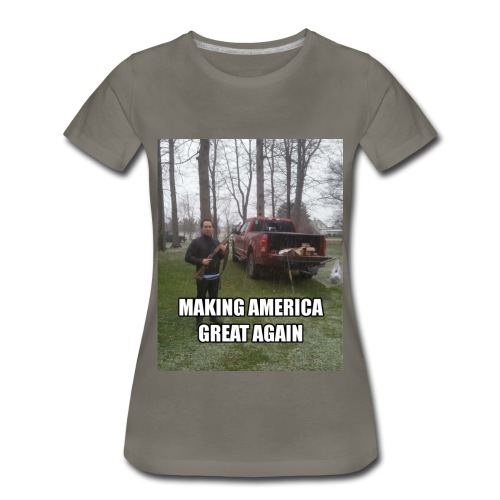 GREAT AMER PRODUCTS - Women's Premium T-Shirt