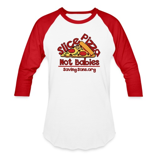 Slice Pizza  - Baseball T-Shirt