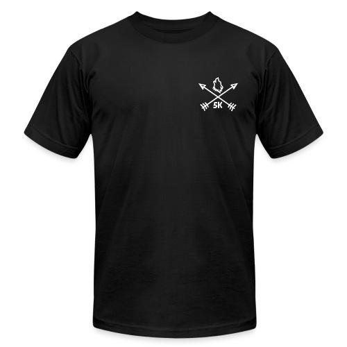 Studio 5K Arrow T Shirt - Men's Fine Jersey T-Shirt