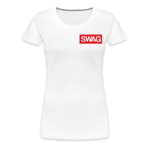 Swag T-shirt - Women's Premium T-Shirt