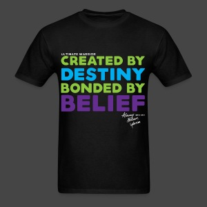 Ultimate Warrior Official Destiny Shirt - Men's T-Shirt