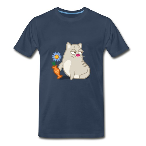 Naughty Cat - Men's Premium T-Shirt