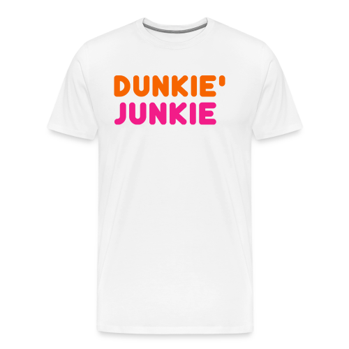 Dunkie Junkie T-Shirts and Hoodies - Men's Premium T-Shirt