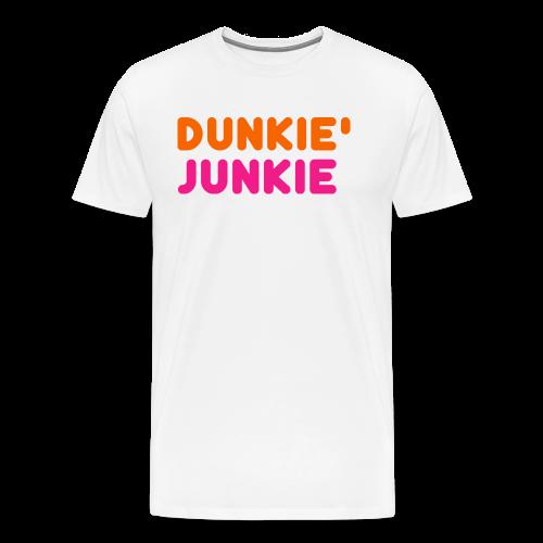 Dunkie Junkie T-Shirts and Hoodies - Men's Premium T-Shirt