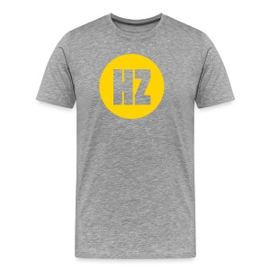 HZ Dot Heather - Men's Premium T-Shirt