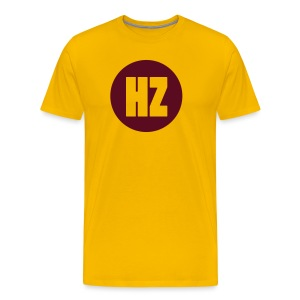 HZ Dot Yellow - Men's Premium T-Shirt