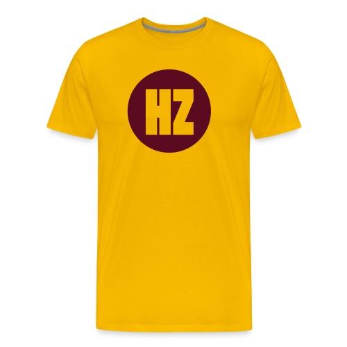 HZ Dot Yellow - Men's Premium T-Shirt