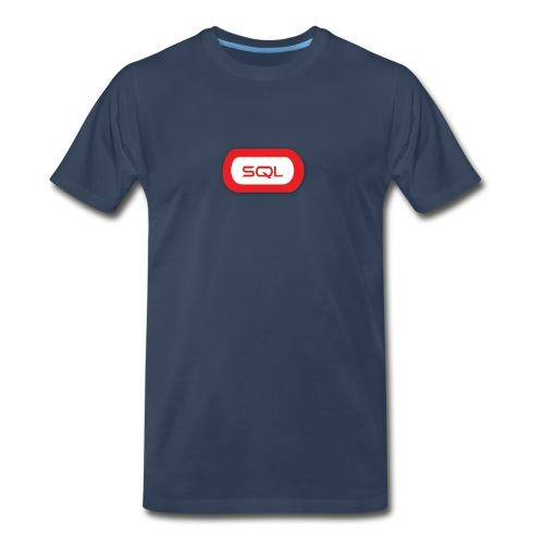 SQL t-shirt - Men's Premium T-Shirt