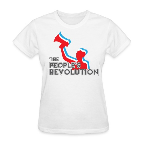 People's Revolution Logo - Women's - Women's T-Shirt