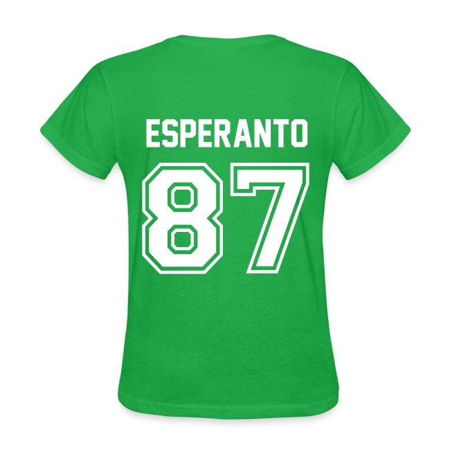 Esperanto Jersey (Feminine)