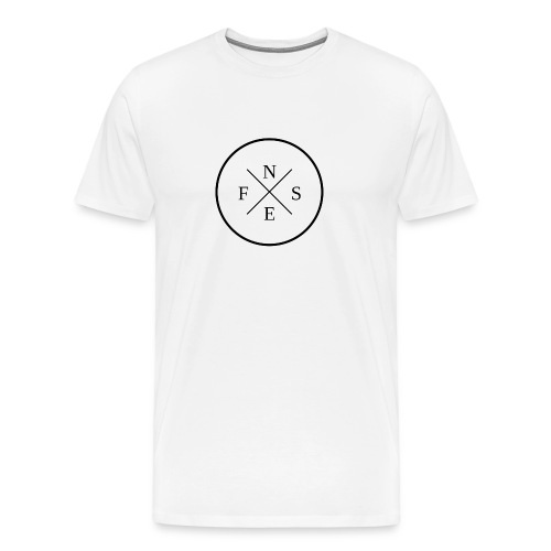 Men's T-Shirt w/ Logo - Men's Premium T-Shirt