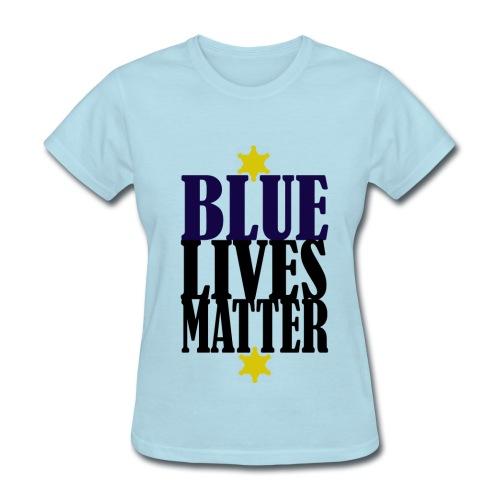 Blue Lives Matter Shirt - Women's T-Shirt