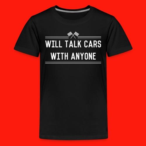 Talk Cars - Kids' Premium T-Shirt