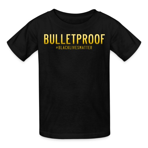 BLM - Bulletproof - Kids' T-Shirt
