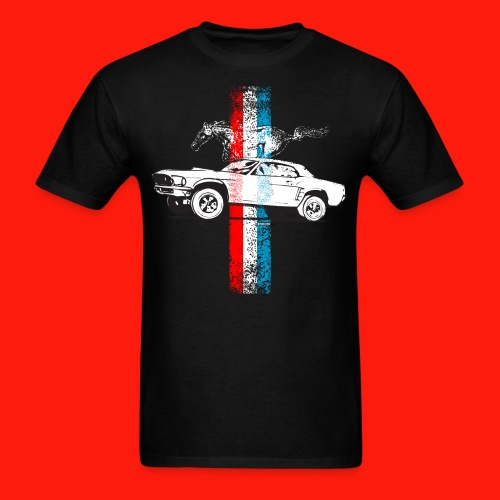 Mens Mustang - Men's T-Shirt