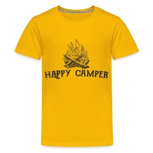 Happy Camper (Kids) - Kids' Premium T-Shirt