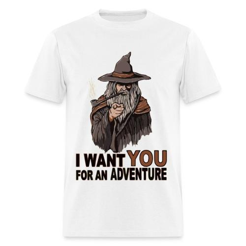 Adventure with Gandalf - Men's T-Shirt