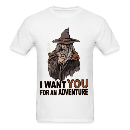 Adventure with Gandalf - Men's T-Shirt
