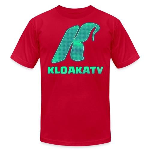 KloakaTV - Premium Shirt - Men's Fine Jersey T-Shirt