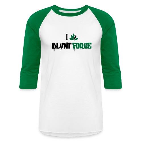 I Love Blvnt Force - Baseball T-Shirt