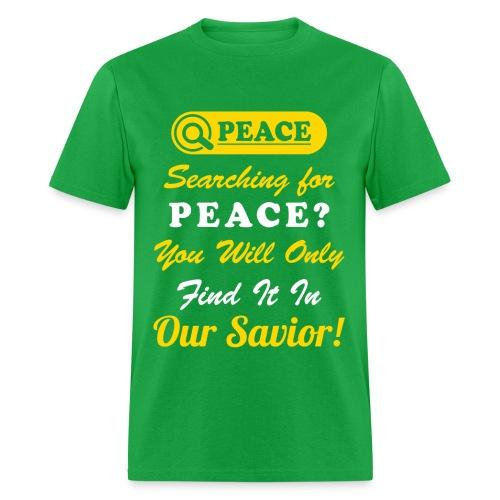 Peace Design For Men - Men's T-Shirt