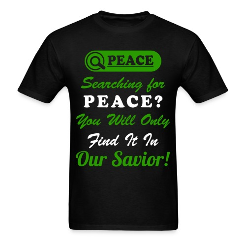 Peace Design For Men - Men's T-Shirt