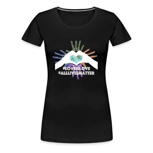 LoveisLove Womens Tee - Women's Premium T-Shirt