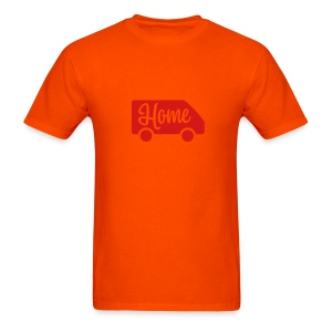 Home in a van - Men's T-Shirt