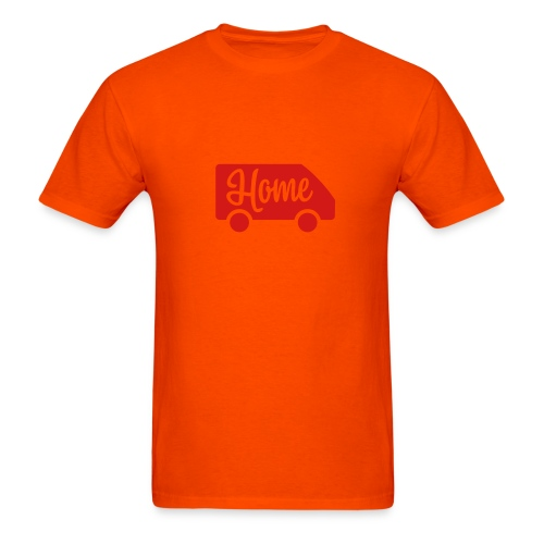 Home in a van - Men's T-Shirt