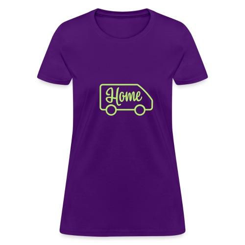 Home in a van - Women's T-Shirt