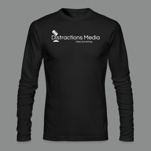 Distractions Media Long Sleeve Tee - Men's Long Sleeve T-Shirt by Next Level