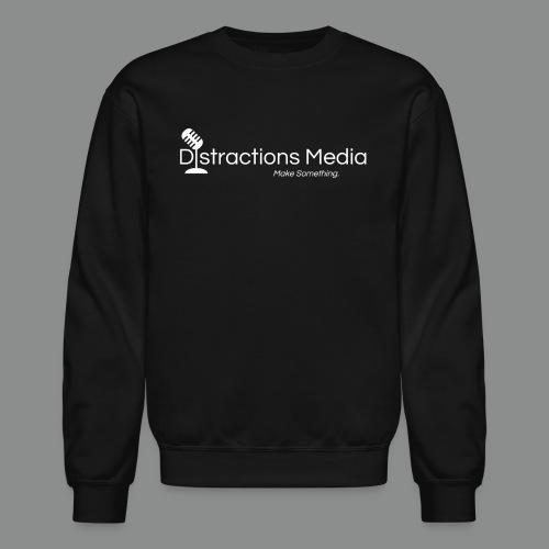 Distractions Media Sweatshirt - Crewneck Sweatshirt