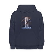 Sweatshirts ~ Kids' Hoodie ~ Ambassador Bridge