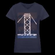 T-Shirts ~ Women's V-Neck T-Shirt ~ Ambassador Bridge