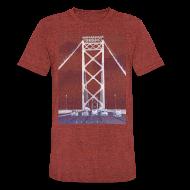 T-Shirts ~ Unisex Tri-Blend T-Shirt ~ Ambassador Bridge