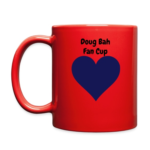 Doug Bah Heart Mug - Full Color Mug