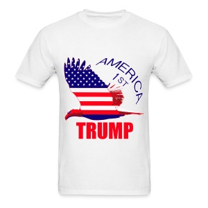 Trump America First Eagle - Men's T-Shirt