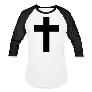 Jesus's Cross - Baseball T-Shirt