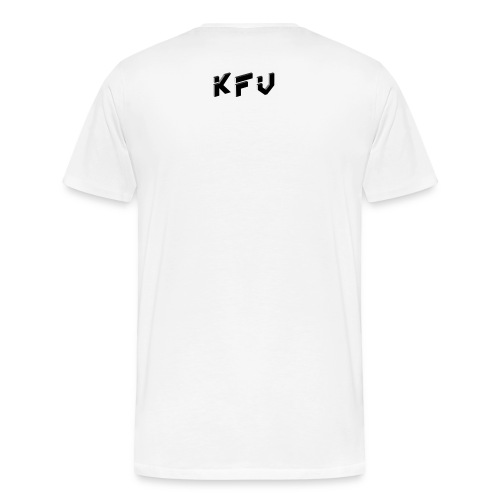FREEZE LOGO W/ KFV  - Men's Premium T-Shirt