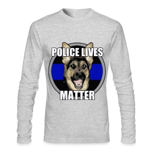 Police lives matter - Men's Long Sleeve T-Shirt by Next Level