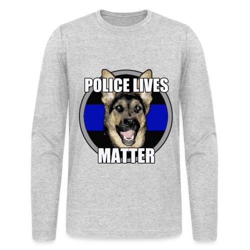 Police lives matter - Men's Long Sleeve T-Shirt by Next Level