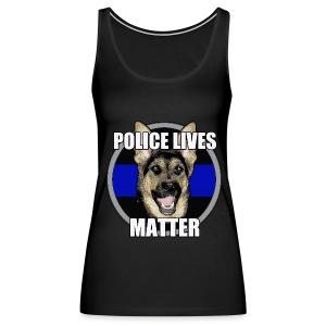 Police lives matter - Women's Premium Tank Top