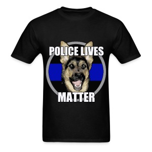 Police lives matter - Men's T-Shirt