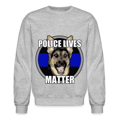 Police lives matter - Crewneck Sweatshirt